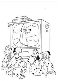 coloring page 101 dalmatians kids n fun