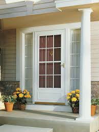 front door with windowShopping for Storm Doors  HGTV