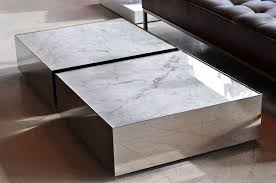 astonishing rectangle white marble ballot low coffee table without legs