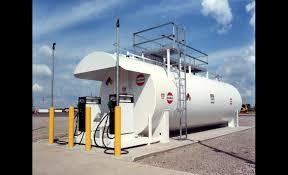 10000 Gallon Above Ground Fuel Tank Chart Fireguard Tanks Modern Welding