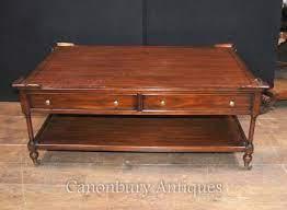 regency coffeee table in mahogany