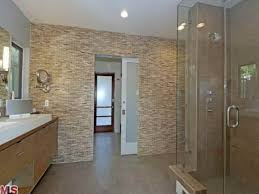 bloombety beautiful tile bathroom with glass wall the glass tile bathroom wall ideas