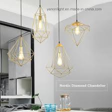 china geometric iron wire chandelier light hanging pendant lamp china geometric pendant lamp pendant light