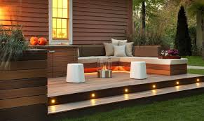 Small Picture Small Decked Garden Ideas within decking designs for small gardens