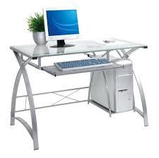 target computer desks desks l shaped glass desk glass top desk officeworks glass corner desk
