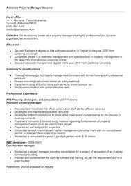 Property Leasing Manager Resume Nfcnbarroom Com