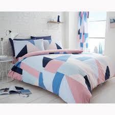 sydney geometric single duvet cover