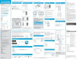 Lutron Dimmer Compatibility Chart 0111 Wireless In Wall Dimmer Switch User Manual Lutron
