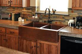 hammered copper farm sink copper farmhouse kitchen sink farm front copper kitchen s hammered copper farmhouse