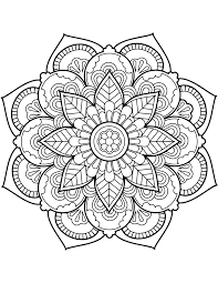 There's many to choose from and our app has a few nice tricks to help you out! Flower Mandala Coloring Pages Best Coloring Pages For Kids