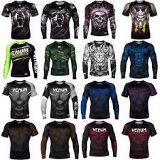 Details About Venum Fight Your Limits Antiwear Clothes Blend Athletic Fit Crewneck T Shirt