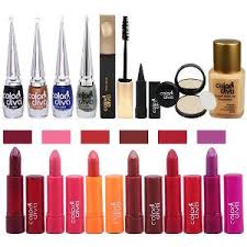color diva daily usage face makeup bo set of 14