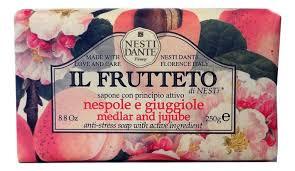 Купить <b>мыло Il Frutteto</b> Medlar &amp; Jujube Soap 250г (мушмула ...