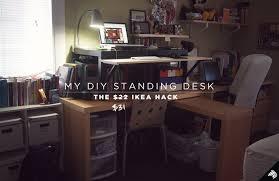 diy standing desk cubicle. Modren Diy Bonus 31 DIY Standing Desk Throughout Diy Cubicle