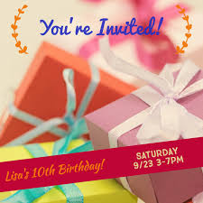 Make Your Own Birthday Invitations For Free Adobe Spark