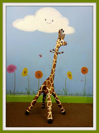 Giraffe Coat Rack Our Giraffe Coat Rack painted and chilling out in a meadow 7