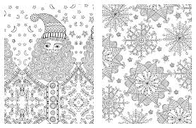 Small Picture Amazoncom Posh Adult Coloring Book Christmas Designs For Fun In