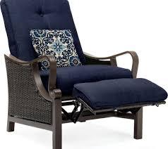 patio recliner chairs ideas hanover ventura luxury resin wicker outdoor chair excellent zero gravity reclining target