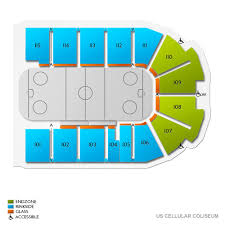 Us Cellular Seating Chart Bloomington Il Tbd At Illinois State Redbirds Hockey Tickets 12 14 2019 7
