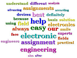 electronics engineering assignment help electronics homework help electronics engineering assignment help