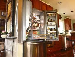 french door refrigerator in kitchen. KitchenAid French-Door Refrigerator French Door In Kitchen