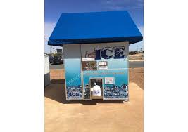 Used Ice Vending Machines Inspiration Used 48 Kooler Ice Automated Ice Vending Machine Ice Maker