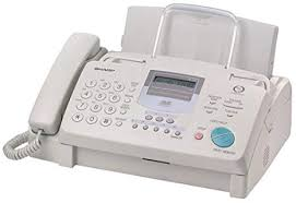 Document Fax Sharp Ux355l Plain Paper Fax Machine