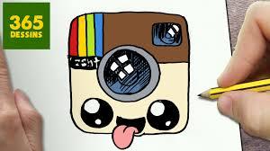 Comment Dessiner Logo Instagram Kawaii Tape Par Tape Dessins