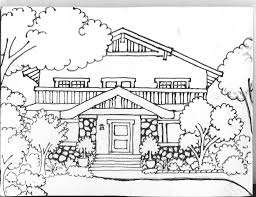 Small Picture House 104 Buildings and Architecture Printable coloring pages