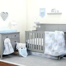 grey elephant crib bedding blue gray elephant 8 crib bedding set baby boy nursery blanket diaper