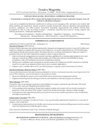 Property Manager Resume Sample Best Of Administrative Manager Resume ...