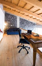 attic rooms space designs ideas creative office room in hardwood floor decorated with black sofa and charming decorating ideas home office space