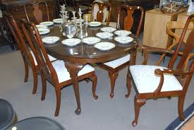 queen anne cherry dining room set pennsylvania house dining room set