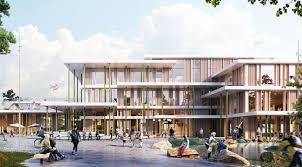 Sustainable Wooden School In Denmark By Arkitema Architects