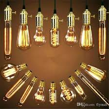 light bulbs for chandelier bulb antique aka carbon filament lamp silk base