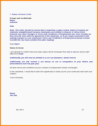Salary Letters From Employer 15 Salary Increase Letter To Employer Proposal Review