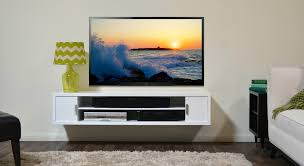 Image of: Contemporary Wall Mounted TV Stand