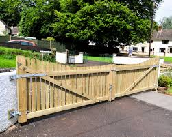 driveway gates wooden inspiring ideas how make 4 build a gate these were made classy