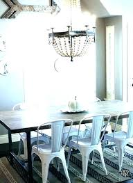 farmhouse table with metal chairs farmhouse dining table and chairs cool modern farmhouse dining table white