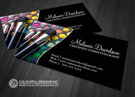 makeup artist business cards to inspire you how to make the business invitation look stunning 5