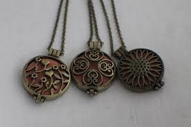 aromatherapy necklace aromatherapy essential oil diffuser locket pendants diffuser necklace diffuser jewelry