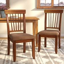 brown dining chairs. Kaiser Point Side Chair (Set Of 2) Brown Dining Chairs