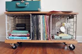 Industrial record storage for vinyl