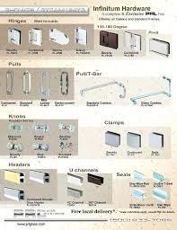 enchanting hinged shower door parts alluring commercial glass door hardware and shower door hardware and complete