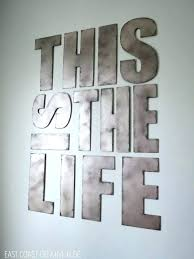 large metal letter wall art brilliant decor g decals hobby lobby best letters images on iron full size of wall decor also letter