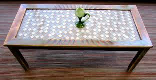 Glass for coffee table Glass Top How To Refinish And Tile Coffee Table The Home Depot Community How To Refinish And Tile Coffee Table The Home Depot Community