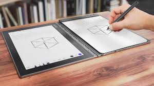 yoga book the ultimate on the go creativity tablet
