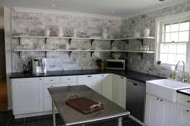 Open Shelves In Kitchen Kitchen Open Shelving Open Shelves On A Kitchen Then Modern