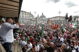 Chi è Giuliano Castellino in prima fila nelle violenze dei no green pass
