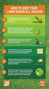 The Home Depot Easy 6 Step Guide To Keeping Your Lawn Green